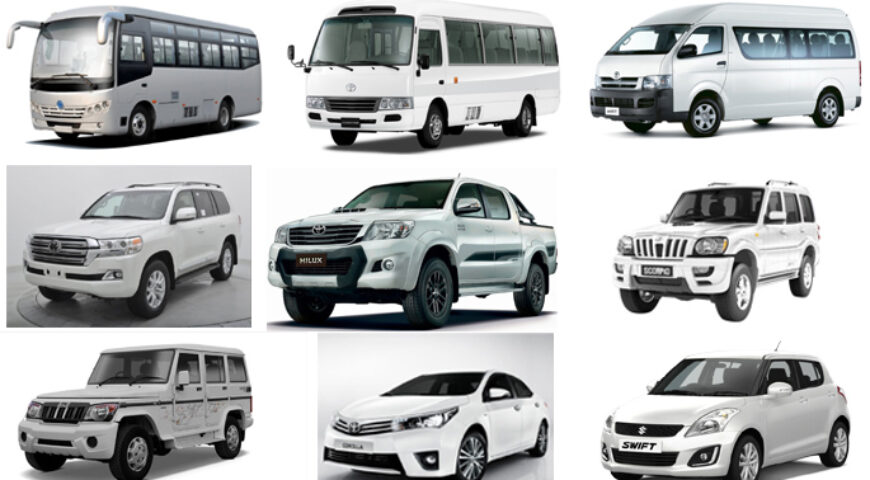 Safe vehicle hire in Nepal